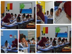 Pelaksanaan Try Out di SDIT Al Auliya 2 Balikpapan
